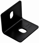 National Mfg/Spectrum Brands Hhi N351-496 Corner Brace, Black Steel, 3-In.