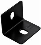 National Mfg/Spectrum Brands Hhi N351-496 Corner Brace, Black Steel, 3-In.