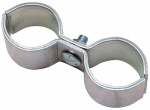 National Mfg/Spectrum Brands Hhi N344-648 Pipe Clamp, Zinc, 2-In.