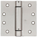 National Mfg/Spectrum Brands Hhi N350-801 Spring Door Hinge, Adjustable, Nickel, 4-In.