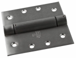 National Mfg/Spectrum Brands Hhi N350-819 Spring Door Hinge, Adjustable, Stainless Steel, 4-In.