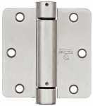 National Mfg/Spectrum Brands Hhi N350-835 Spring Door Hinge, Adjustable, Nickel, 3.5-In.