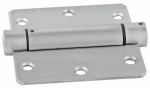 National Mfg/Spectrum Brands Hhi N350-843 Spring Door Hinge, Adjustable, Stainless Steel, 3.5-In.