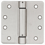 National Mfg/Spectrum Brands Hhi N350-868 Spring Door Hinge, Adjustable, Nickel, 4-In.