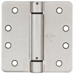 National Mfg/Spectrum Brands Hhi N351-023 Spring Door Hinge, Adjustable, Nickel, 4-In.