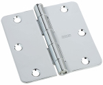 National Mfg/Spectrum Brands Hhi N830-182 Door Hinge, Interior, Polished Chrome, 3.5-In.