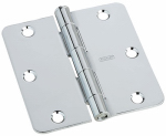 National Mfg/Spectrum Brands Hhi N830-184 Door Hinge, Interior, Polished Chrome, 3-In.