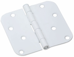 National Mfg/Spectrum Brands Hhi N830-216 Door Hinge, Interior, Round-Edge, Prime , 4-In.