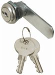 National Mfg/Spectrum Brands Hhi N185-272 Door & Drawer Lock, Chrome, 1/4-In.