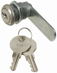 National Mfg/Spectrum Brands Hhi N185-280 Door & Drawer Lock, Chrome, 1/2-In.