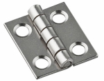 National Mfg/Spectrum Brands Hhi N211-012 Narrow Hinge, Nickel, 3/4 x 5/8-In., Must Purchase in Quantities of 5