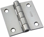National Mfg/Spectrum Brands Hhi N139-659 Plain Steel Removable-Pin Broad Hinge, 2-In.