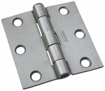 National Mfg/Spectrum Brands Hhi N139-733 Plain Steel Removable-Pin Broad Hinge, 2.5-In.