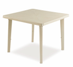 Adams Mfg 8170-23-3770 Deck Dining Table, Resin, Desert Clay, 36-In.