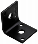 National Mfg/Spectrum Brands Hhi N351-482 Corner Brace, Black Steel, 1.65-In.