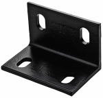 National Mfg/Spectrum Brands Hhi N351-492 Corner Brace, Black Steel, 4.6-In.