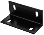 National Mfg/Spectrum Brands Hhi N351-493 Corner Brace, Black Steel, 6.6-In.