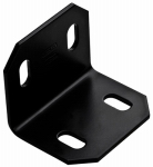 National Mfg/Spectrum Brands Hhi N351-494 Corner Brace, Black Steel, 3-In.