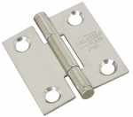 "National Mfg N276-956 1-1/2"" Stainless Steel Door Hinge"