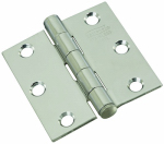 National Mfg/Spectrum Brands Hhi N276-972 Door Hinge, Stainless Steel, 2.5-In.