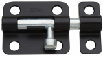 National Mfg/Spectrum Brands Hhi N151-431 Barrel Bolt, Black, 2.5-In.