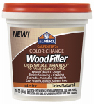 Elmer's Product E914 Color Change Interior Wood Filler, Natural, 16-oz.