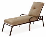 Patio Master ACH05002K01 Bellevue Patio Collection Chaise Lounge, Cushions & Aluminum Frame, Must Purchase in Quantities of 2