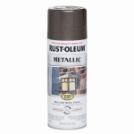 Rust-Oleum 7272-830 Metallic Spray Paint, Dark Bronze, 11-oz.