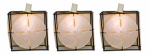 Sienna 624F611D Patio Light Set, White Lantern, 10-Lights