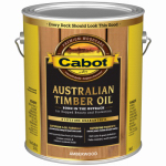 Cabot/Valspar 3457-07 Australian Timber Oil, Amber Wood, 1-Gal.