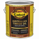 Cabot/Valspar 3460-07 Australian Timber Oil, Jar Brown, 1-Gal.