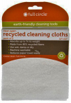 Full Circle Home FC13211W Recycled Cleaning Cloths, 2-Pk.