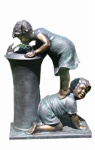 Beckett 7238910 Backyard Fountain, 'Little Help' Theme