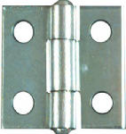 National Mfg/Spectrum Brands Hhi N145-920 2-Pack 1 x 1-Inch Zinc Light Narrow Light-Duty Hinges