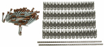 Apache Hose & Belting 25085381 Alligator Rivet Fastener, Stainless Steel, 7-In.