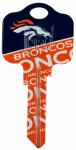 Kaba Ilco KCKW1-NFL-BRONCOS KW1 Broncos Team Key