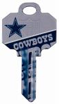 Kaba Ilco KCKW1-NFL-COWBOYS KW1 Cowboys Team Key