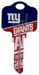 Kaba Ilco KCKW1-NFL-GIANTS KW1Giant Team Key Blank