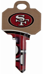 Kaba Ilco KCSC1-NFL-49ERS SC1 49ers Team Key