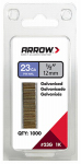 Arrow Fastener 23G12-1K Pin Nails, 23-Ga., .5-In., 1,000-Pk.