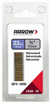 "Arrow Fastener 23G15-1K 1000PK 5/8"" Pin Nail"