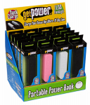 Aries Mfg GP-PWR-PACK USB Battery Back Up, Assorted Colors
