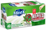 Mint X MX2427W40DS Rodent Repellent Trash Bags, Drawstring, 13-Gal.