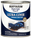 Rust-Oleum 1922-502 QT Navy BLU Latex Paint