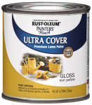 Rust-Oleum 1945-730 1/2PT Sun Yellow Latex Paint