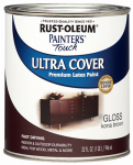 Rust-Oleum 1977-502 QT Kona BRN Gloss or Glass Paint