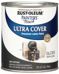 Rust-Oleum 1986-502 QT DK GRY Gloss or Glass Paint