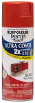 Rust-Oleum 263149 Painters Touch 2X Spray Paint, Satin Fire Orange, 12-oz.