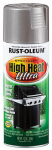 Rust-Oleum 270201 12OZ Silver Hi Heat Paint