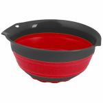 Robinson Home Products 41004 Collapsible Mixing Bowl, Blue, 3-Qts.